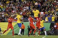 Action photo during the match Brasil vs Peru at Gillette Stadium Copa America Centenario 2016. ---Foto  de accion durante el partido Brasil vs Peru , En el Estadio Gillette Partido Correspondiante al Grupo - B -  de la Copa America Centenario USA 2016, en la foto: Gil<br /> -- 12/06/2016/MEXSPORT/Adrian Macias.