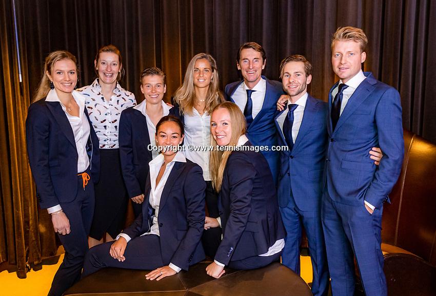 The Hague, The Netherlands, Februari 5, 2020,    Penthouse, FedCup  Netherlands -  Balarus, Official Dinner, <br /> Photo: Tennisimages/Henk Koster