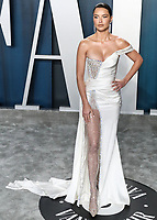 BEVERLY HILLS, LOS ANGELES, CALIFORNIA, USA - FEBRUARY 09: Adriana Lima arrives at the 2020 Vanity Fair Oscar Party held at the Wallis Annenberg Center for the Performing Arts on February 9, 2020 in Beverly Hills, Los Angeles, California, United States. (Photo by Xavier Collin/PictureGroup)