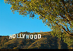 Hollywood Sign, Mount Lee, Hollywood Hills, Los Angeles, California