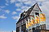 Zollamt (erbaut 1904-1906), dreigeschossiger Heimatstilbau mit Renaissancemotiven, ehemals Großherzogliches Hauptsteueramt