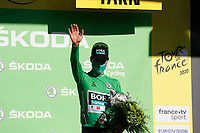 4th September 2020; Millau to Lavaur, France. Tour de France cycling tour, stage 7;  Bora - Hansgrohe Sagan, Peter Lavaur on the podium