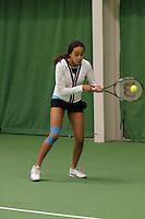 01-02-11,  Tennis, Amsterdam, Robin Haase en Rhonda de Laqng