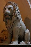 Marzocco (Heraldic Lion) Cortile della Dogana (customs courtyard) Palazzo Vecchio Florence
