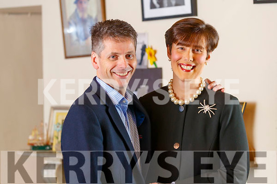 Norma Foley pictured with her husband Denis McGuire