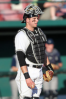 Kevin Plawecki #26 of the Purdue Boilermakers during the Big East-Big Ten Challenge vs. the Notre Dame Fighting Irish at Al Lang Field in St. Petersburg, Florida;  February 19, 2011.  Photo By Mike Janes/Four Seam Images