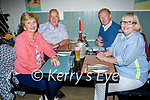 Enjoying the evening in Eabha Joans in Listowel on Thursday, l to r: Bridie  and Eddie Mulvhill (Finuge), Chris Everett (Waterford) and Kathleen Forester (Listowel).