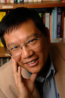 Dr D.F.K. Wong who is studying the difficulties encountered by migrant workers in Shanghai at Hong Kong University