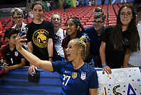 Sandy, Utah - Thursday June 07, 2018: Merritt Mathias during an international friendly match between the women's national teams of the United States (USA) and China PR (CHN) at Rio Tinto Stadium.