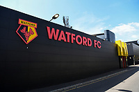 24th April 2021; Vicarage Road, Watford, Hertfordshire, England; English Football League Championship Football, Watford versus Millwall; Vicarage Road stadium.
