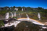 Cataratas do Iguacu. Rio Iguacu. Foz do Iguacu. Parana. 2013. Foto de Ubirajara Machado.