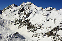 Gebirge im Schnee - Mountains covered with Snow