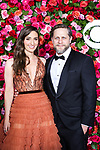 NEW YORK, NY - JUNE 10:  Sara Bareilles and Joe Tippett attend the 72nd Annual Tony Awards at Radio City Music Hall on June 10, 2018 in New York City.  (Photo by Walter McBride/WireImage)