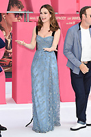 """Lily James<br /> at the """"Baby Driver"""" premiere, Cineworld Empire Leicester Square, London. <br /> <br /> <br /> ©Ash Knotek  D3285  21/06/2017"""