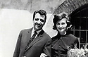 Czechoslovakia 1952. The newlyweds Abdul Rahman and Helene Ghassemlou<br /> <br /> Tchecoslovaquie 1952. Abdul Rahman et Helene Ghassemlou