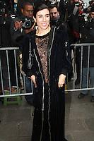 Bianca Li - ArrivÈes au dÈfilÈ haute couture Jean Paul Gaultier - Paris, France - 25/01/2017