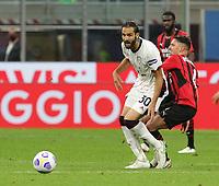 Milano 12-05 2021<br /> Stadio Giuseppe Meazza<br /> Serie A  Tim 2020/21<br /> Milan - Cagliari<br /> Nella foto: Leonardo Pavoletti                                     <br /> Antonio Saia Kines Milano
