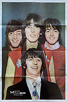 BNPS.co.uk (01202 558833)<br /> Pic: OmegaAuctions/BNPS<br /> <br /> Pictured: An original fan club issued poster is part of the sale<br /> <br /> A collection of letters George Harrison's mother wrote to a Beatles fan over a five-year period has emerged for sale.<br /> <br /> Louise Harrison wrote to super fan Lorraine O'Malley from August 1964 until her death in 1970, sharing notable events in the band and Harrison's life like the band getting MBEs and her son's marriage to Pattie Boyd.<br /> <br /> Mrs O'Malley, who started writing as a star-struck 16-year-old, kept the letters safely stored in a safety deposit box for the next 50 years.<br /> <br /> She has now decided to put the 55 letters up for sale with Omega Auctions, based in Merseyside, with an estimate of £6,000.