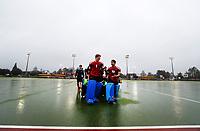 Rain cancellations. National Men's Under-18 Hockey Tournament finals day at Gallagher Hockey Centre in Hamilton, New Zealand on Saturday, 17 July 2021. Photo: Simon Watts / bwmedia.co.nz