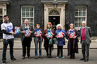 """11.03.2015 - """"Save Our Bus Pass' Petition Delivered to 10 Downing Street"""""""