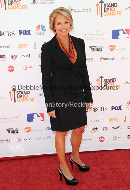 Katie Couric at Stand Up to Cancer held at Sony Picture Studios in Culver City, California on September 10,2010                                                                               © 2010 Hollywood Press Agency