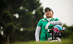 TAOYUAN, TAIWAN - OCTOBER 27:  Inbee Park of South Korea stands on the 16th hole during the day three of the Sunrise LPGA Taiwan Championship at the Sunrise Golf Course on October 27, 2012 in Taoyuan, Taiwan.  Photo by Victor Fraile / The Power of Sport Images