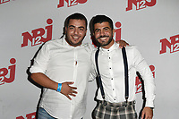 Jawad MOUSSAOUI ( JAJA ), Thomas ADAMANDOPOULOS - Avant-premiere des Vacances des Anges 2, NRJ12, le 24/08/2017 - Paris - France