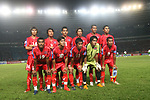 Players of Cambodia Team line up and pose for a photo prior to their AFF Suzuki Cup 2008 Group A match between Cambodia and Indonesia at Gelora Bung Karno Stadium on 07 December 2008, in Jakarta, Indonesia. Photo by Stringer / Lagardere Sports