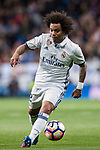 Marcelo Vieira Da Silva of Real Madrid in action during their La Liga match between Real Madrid and Real Betis at the Santiago Bernabeu Stadium on 12 March 2017 in Madrid, Spain. Photo by Diego Gonzalez Souto / Power Sport Images