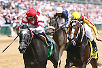 30 April 2010: Unrivaled Belle and Kent Desormeaux defeat Rachel Alexandra and Calvin Borel to win the La Troienne Stakes at Churchill Downs, Louisville, KY.