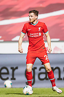 25th August 2020, Red Bull Arena, Slazburg, Austria; Pre-season football friendly, Red Bull Salzburg versus Liverpool FC;  Andrew Robertson FC Liverpool