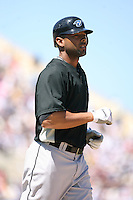 March 21st 2008:  Alex Rios of the Toronto Blue Jays during Spring Training at Joker Marchant Stadium in Lakeland, FL.  Photo by:  Mike Janes/Four Seam Images