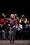 CARMEN<br /> <br /> D'après Carmen, la nouvelle de Prosper Mérimée (1845)<br /> Dramaturgie et mise en scène : Antonio Gades et Carlos Saura<br /> Chorégraphie et lumières : Antonio Gades<br /> Interprètes :<br /> Maria Joseé Lopez : Carmen<br /> Angel Gil : Don José<br /> Jairo Rodriguez : Le Toréador<br /> Miguel Angel Rojas : Le Mari<br /> Date : 26/12/2012<br /> Lieu : Palais des congrès<br /> Ville : Paris<br /> © Laurent Paillier / photosdedanse.com<br /> All rights reserved
