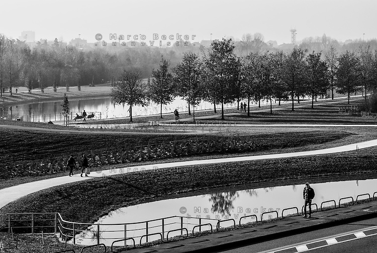 Milano Parco Nord. laghetti, ponds