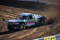 Dec. 10, 2011; Chandler, AZ, USA;  LOORRS pro 4 unlimited driver Kyle LeDuc during round 15 at Firebird International Raceway. Mandatory Credit: Mark J. Rebilas-