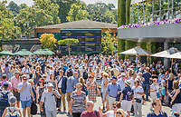 London, England, 5 th July, 2017, Tennis,  Wimbledon, Ambiance<br /> Photo: Henk Koster/tennisimages.com