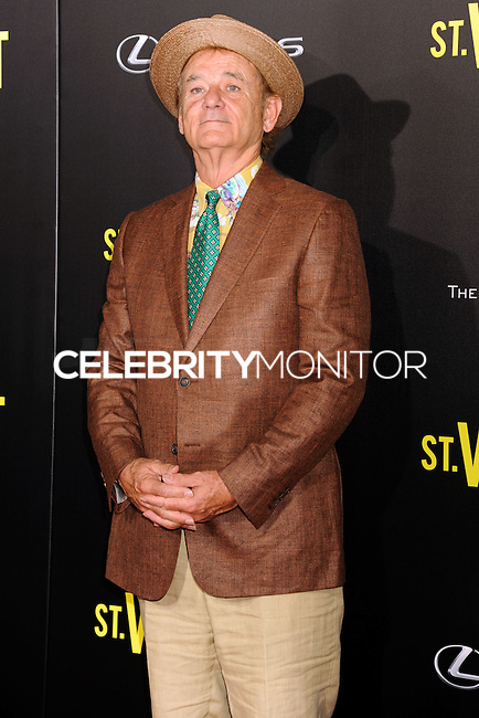 NEW YORK CITY, NY, USA - OCTOBER 06: Bill Murray arrives at the New York Premiere Of The Weinstein Company's 'St. Vincent' held at the Ziegfeld Theatre on October 6, 2014 in New York City, New York, United States. (Photo by Celebrity Monitor)