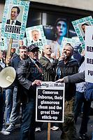 02.05.2017 - LTDA Taxi Drivers Protesting The New Evening Standard's Editor: George Osborne