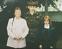 05/11/2004  Copyright Pic : James Stewart.File Name : jspa07_scott_mcardle.COLLECT PIC OF OF BLACK WATCH SOLDIER PRIVATE SCOTT MCARDLE WHO WAS KILLED IN IRAQ... HE IS PICTURED WITH GRAN MARGARET MCARDLE AND SISTER SANDY AT HIS PASS OUT PARADE AT CATTERICK......Payments to :.James Stewart Photo Agency 19 Carronlea Drive, Falkirk. FK2 8DN      Vat Reg No. 607 6932 25.Office     : +44 (0)1324 570906     .Mobile  : +44 (0)7721 416997.Fax         :  +44 (0)1324 570906.E-mail  :  jim@jspa.co.uk.If you require further information then contact Jim Stewart on any of the numbers above.........