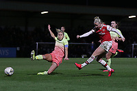 Beth Mead of Arsenal goes close during Arsenal Women vs Manchester City Women, FA Women's Continental League Cup Football at Meadow Park on 29th January 2020