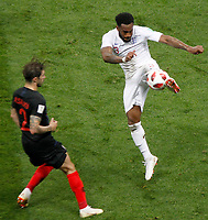 MOSCU - RUSIA, 11-07-2018: Danny ROSE jugador de Inglaterra en acción durante partido de Semifinales entre Croacia y Inglaterra por la Copa Mundial de la FIFA Rusia 2018 jugado en el estadio Luzhnikí en Moscú, Rusia. / Danny ROSE player of England action during the match between Croatia and England of Semi-finals for the FIFA World Cup Russia 2018 played at Luzhniki Stadium in Moscow, Russia. Photo: VizzorImage / Julian Medina / Cont