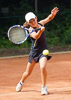 10-08-11, Tennis, Hillegom, Nationale Jeugd Kampioenschappen, NJK, Merel Hoedt