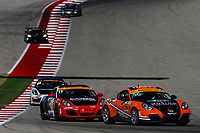 IMSA Continental Tire SportsCar Challenge<br /> Advance Auto Parts SportsCar Showdown<br /> Circuit of The Americas, Austin, TX USA<br /> Friday 5 May 2017<br /> 56, Porsche, Porsche Cayman, ST, Jeff Mosing, Eric Foss<br /> World Copyright: Jake Galstad<br /> LAT Images