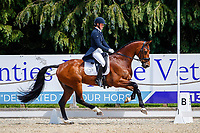GBR-Bubby Upton rides Cola III during the Dressage for the CCI-L 4*U25. Interim-2nd. 2021 GBR-Bicton International Horse Trials. Devon. Great Britain. Friday 11 June. Copyright Photo: Libby Law Photography