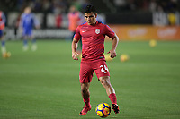 Carson, CA - Sunday January 28, 2018: Nick Lima prior to an international friendly between the men's national teams of the United States (USA) and Bosnia and Herzegovina (BIH) at the StubHub Center.