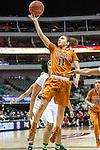 guard Brooke McCarty (11) in action during Big 12 women's basketball championship final, Sunday, March 08, 2015 in Dallas, Tex. (Dan Wozniak/TFV Media via AP Images)