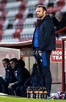 Bolton Wanderers' head coach Ian Evatt looks on  <br /> <br /> Photographer Andrew Kearns/CameraSport<br /> <br /> The EFL Sky Bet League Two - Stevenage v Bolton Wanderers - Saturday 21st November 2020 - Lamex Stadium - Stevenage<br /> <br /> World Copyright © 2020 CameraSport. All rights reserved. 43 Linden Ave. Countesthorpe. Leicester. England. LE8 5PG - Tel: +44 (0) 116 277 4147 - admin@camerasport.com - www.camerasport.com