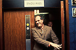 Derek Robinson Union Leader at British Leyland Longbridge car plant Birmingham 1980