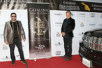 LOS ANGELES - SEP 26:  Catalina Film Festival Director Ron Truppa and Martin Kove at the Catalina Film Festival Drive Thru Red Carpet, Saturday at the Scottish Rite Event Center on September 26, 2020 in Long Beach, CA