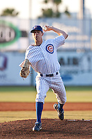 April 29 2010: Brooks Raley (30) of the Daytona Beach Cubs during a game vs. the Lakeland Flying Tigers at Jackie Robinson Ballpark in Daytona Beach, Florida. Daytona, the Florida State League High-A affiliate of the Chicago Cubs, lost the game against Lakeland, affiliate of the Detroit Tigers, by the score of 4-3  Photo By Scott Jontes/Four Seam Images